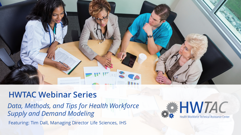 View Data, Methods, and Tips for Health Workforce Supply and Demand Modeling