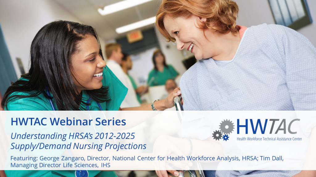 View Understanding HRSA's 2012-2025 Supply/Demand Nursing Projections