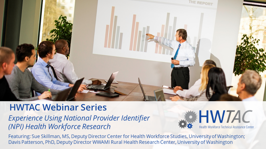 View Experiences Using the National Provider Identifier (NPI)