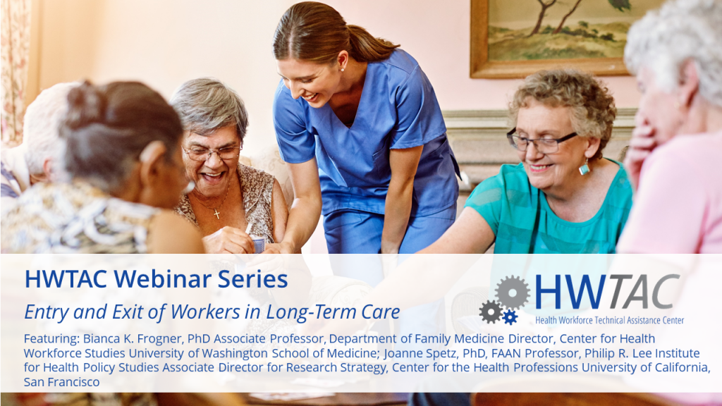View Entry and Exit of Workers in Long-Term Care