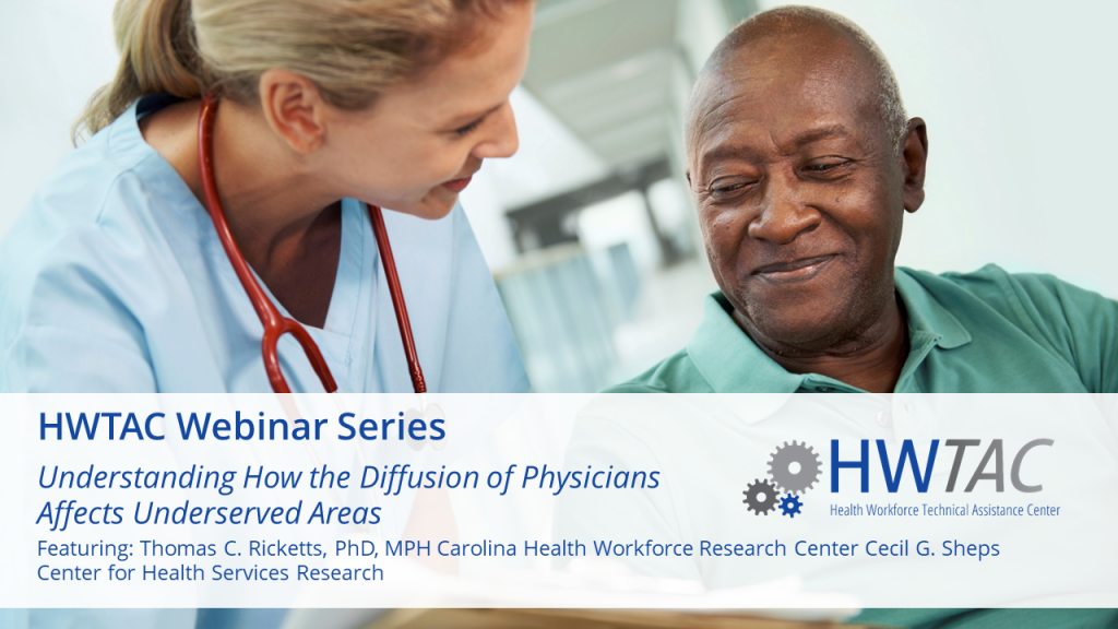 View Understanding How the Diffusion of Physicians Affects Underserved Areas