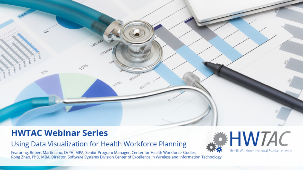 View Using Data Visualization for Health Workforce Planning