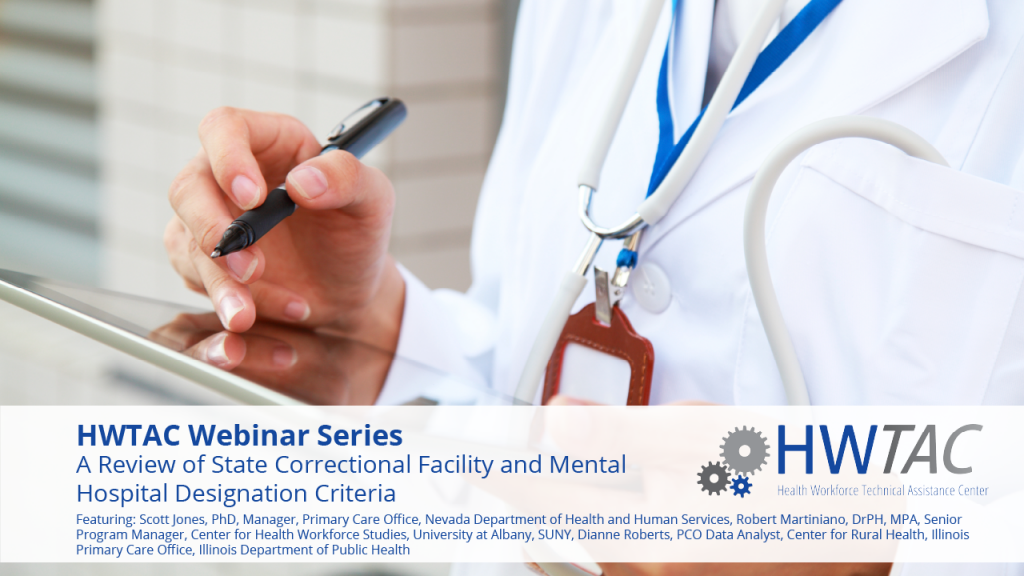 View A Review of State Correctional Facility and State/County Mental Hospital Designation Criteria