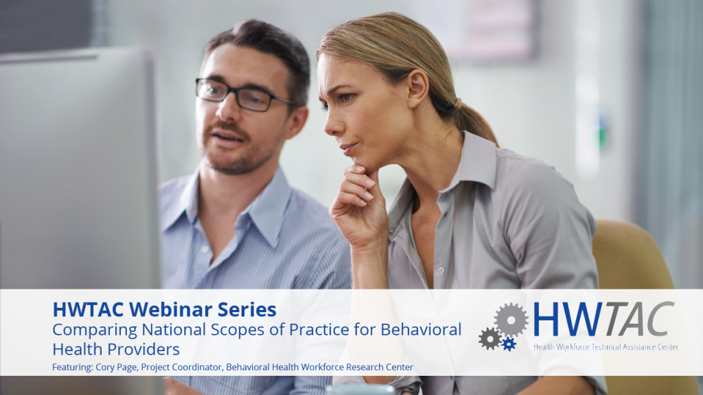 View Comparing National Scopes of Practice for Behavioral Health Providers