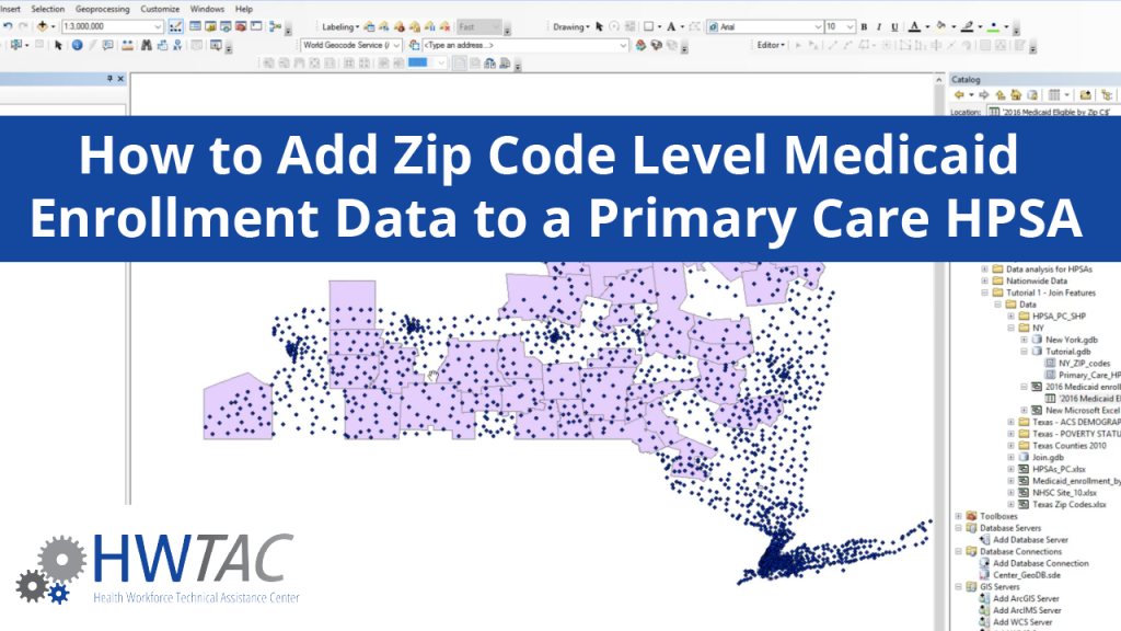 View How to Add Zip Code Level Medicaid Enrollment Data to a Primary Care HPSA