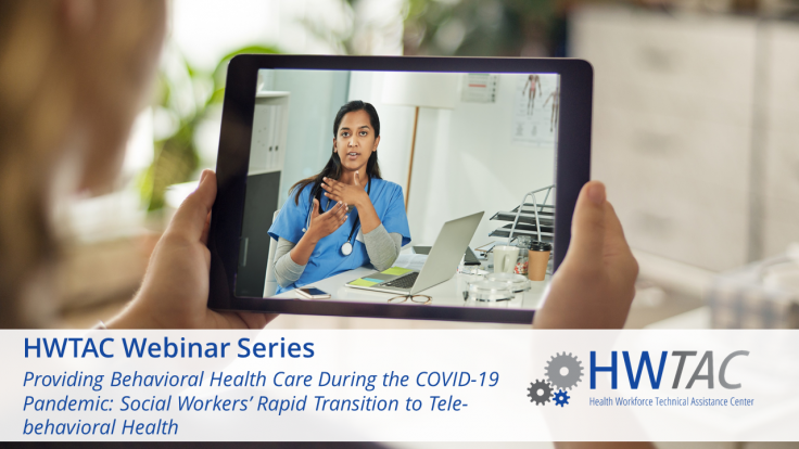 View Providing Behavioral Health Care During the COVID-19 Pandemic: Social Workers' Rapid Transition to Tele-behavioral Health