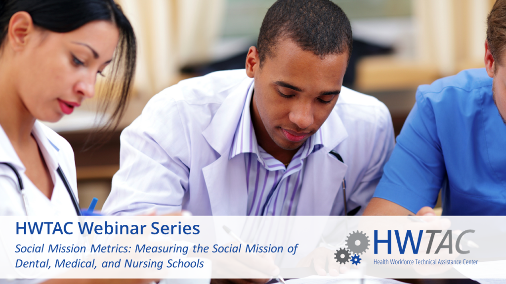 View Social Mission Metrics: Measuring the Social Mission of Dental, Medical, and Nursing Schools
